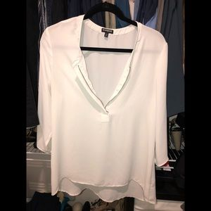 Express 1/4 zip blouse medium